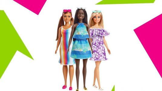 Barbie bambole plastica riciclata